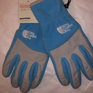THE NORTH FACE Women's BLUE GLOVES